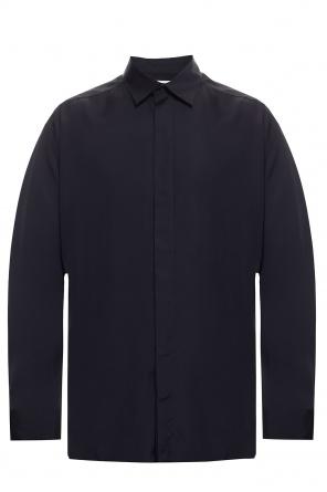 Shirt with concealed placket od Bottega Veneta