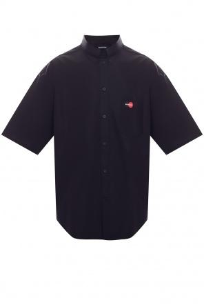 Logo-embroidered shirt od Balenciaga