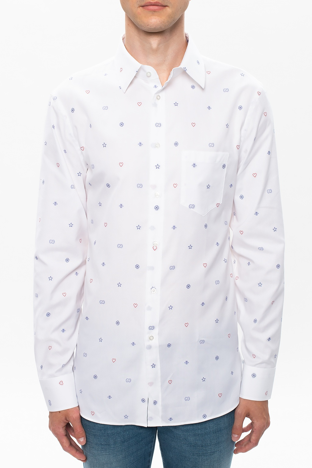 Gucci Cotton shirt with logo