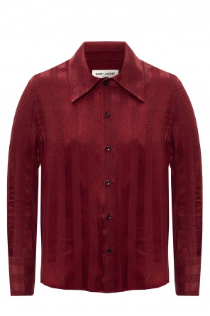 Silk shirt od Saint Laurent
