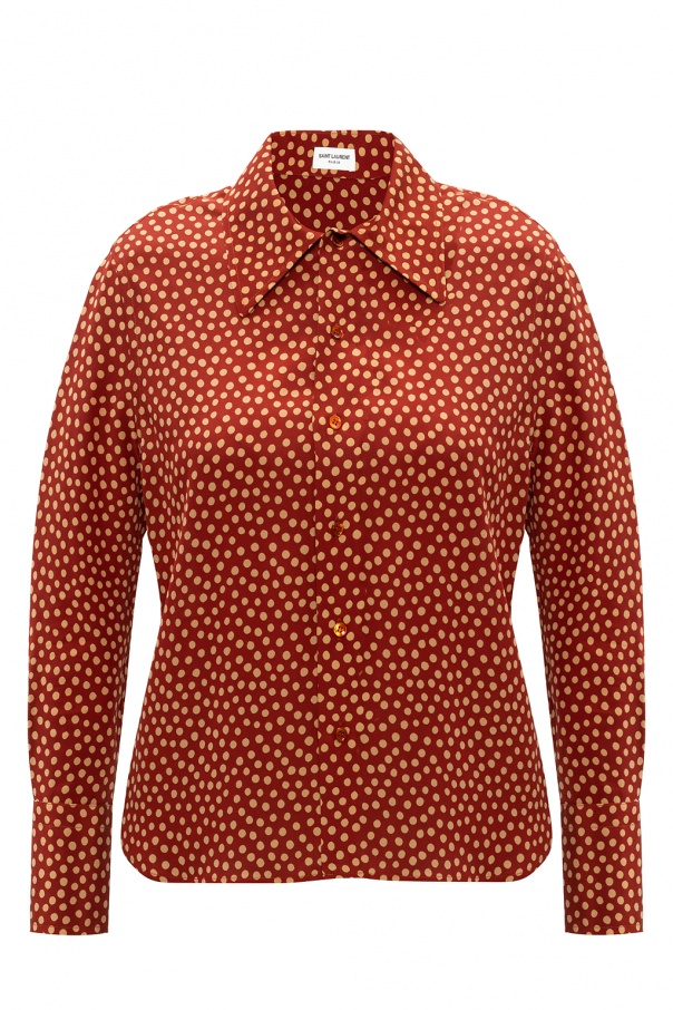 Saint Laurent Dotted shirt