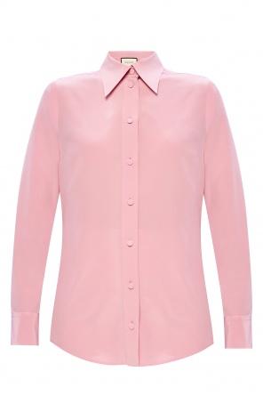 Silk shirt od Gucci