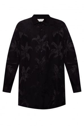 Embroidered shirt od Saint Laurent
