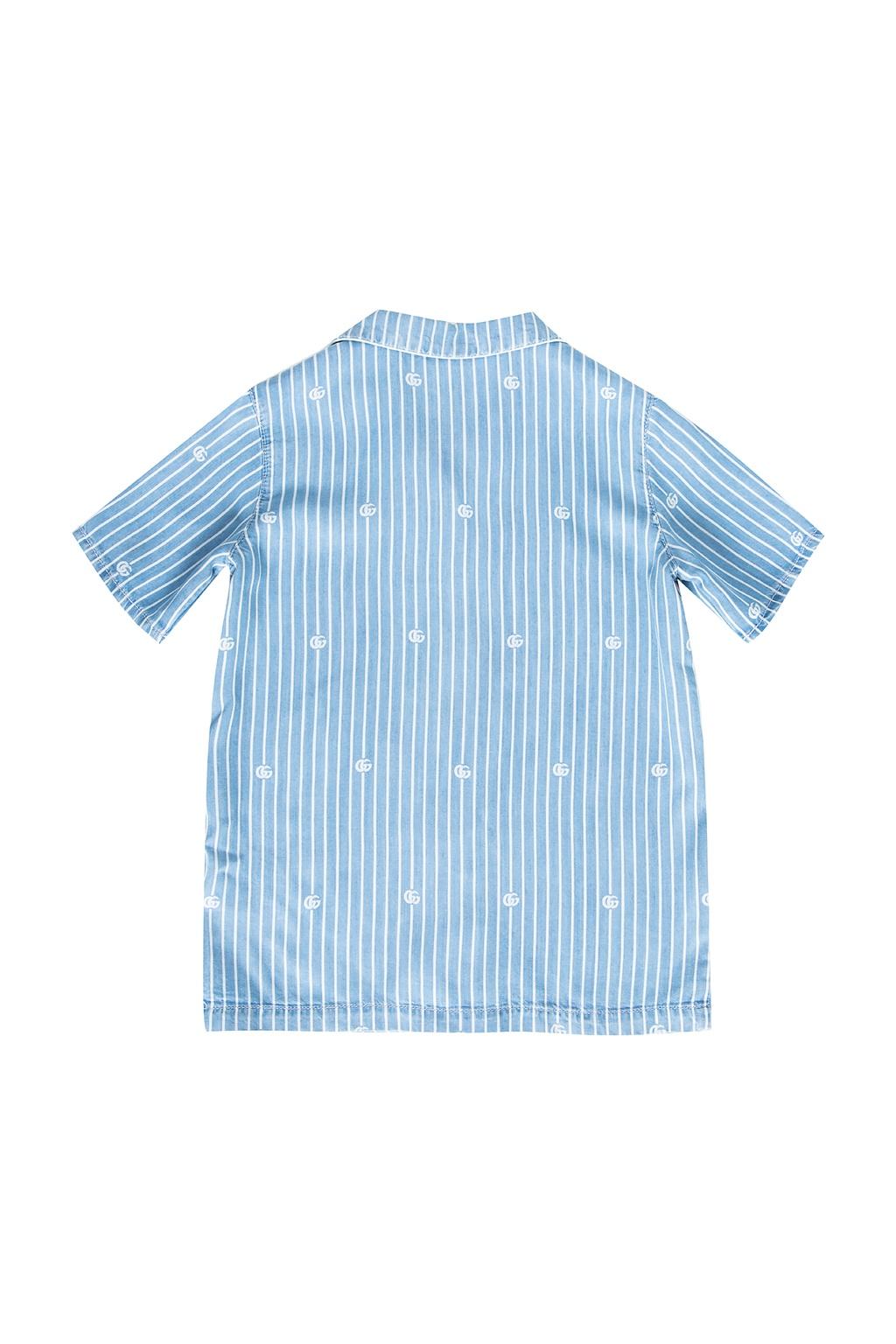 Gucci Kids Shirt with logo