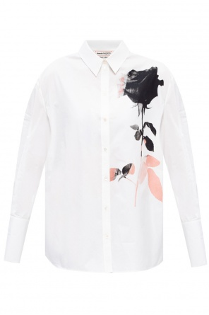 Printed shirt od Alexander McQueen