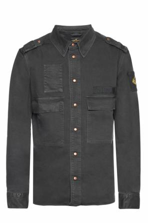 Denim shirt with epaulettes od Vivienne Westwood
