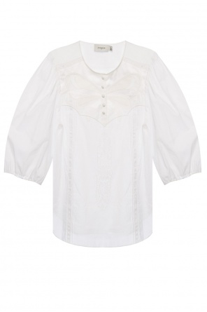 Embroidered blouse od Coach