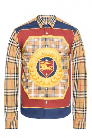 Logo-printed shirt od Burberry