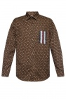 Burberry Patterned shirt with logo