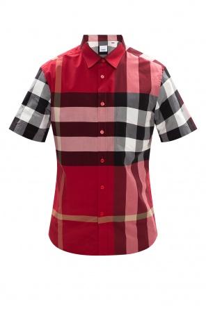 Short-sleeved check shirt od Burberry