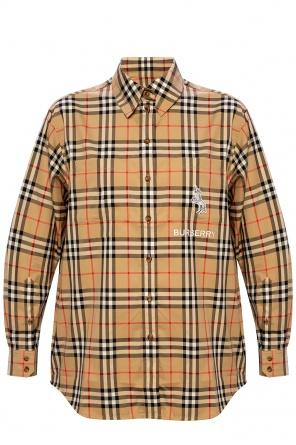 Shirt with logo od Burberry