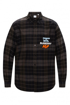 Shirt with chest pocket od Burberry