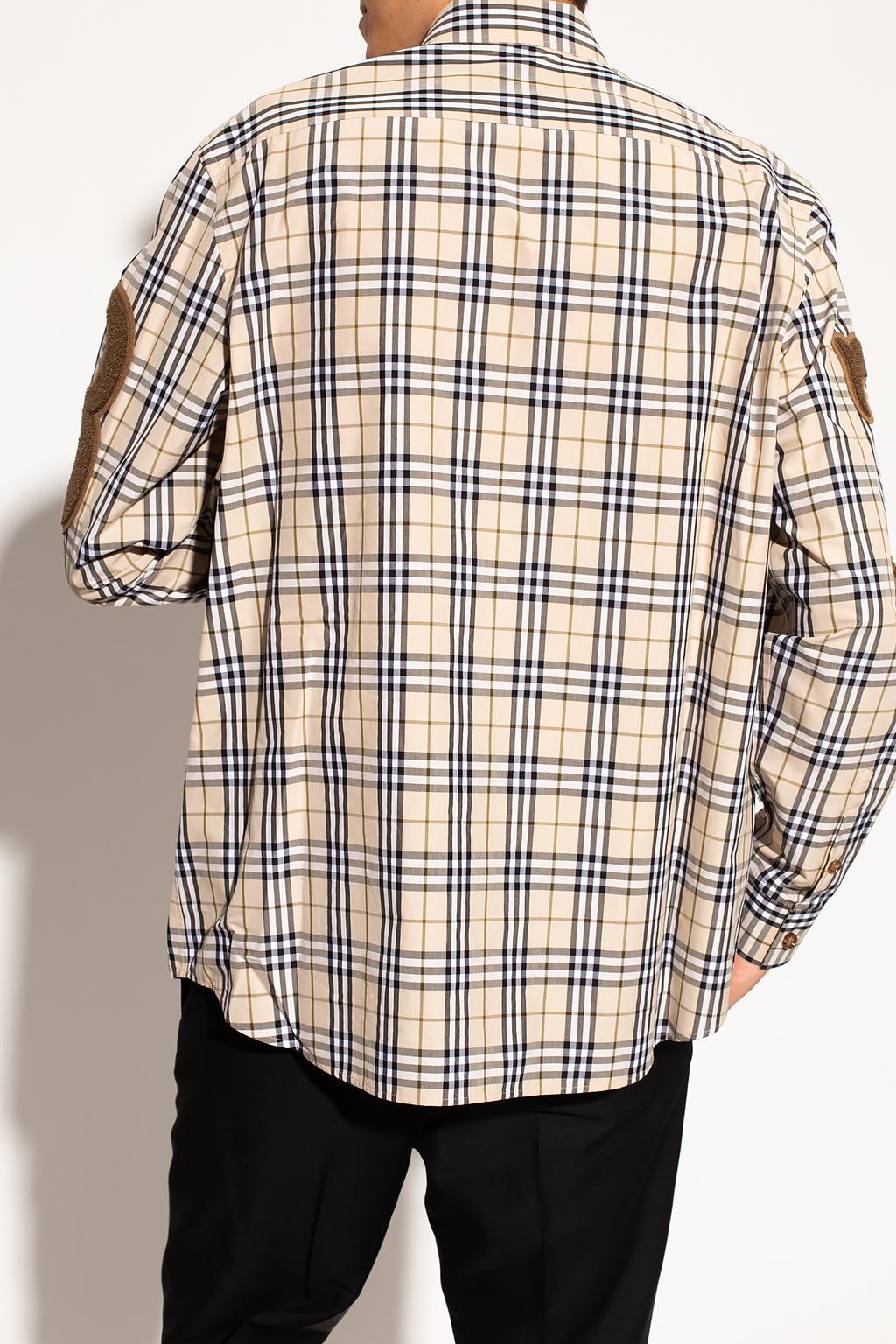 Burberry 格纹饰衬衫