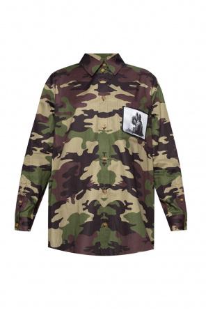 Camo shirt od Burberry