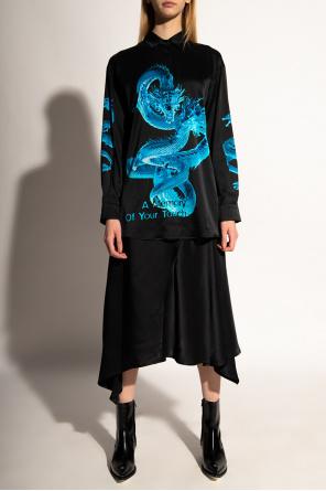 'a memory' silk shirt od MISBHV