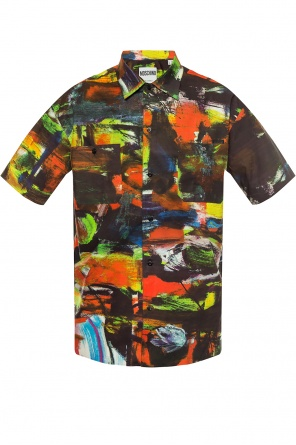 Short-sleeved patterned shirt od Moschino