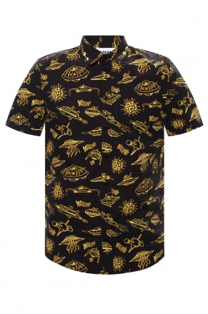 Patterned polo shirt od Moschino