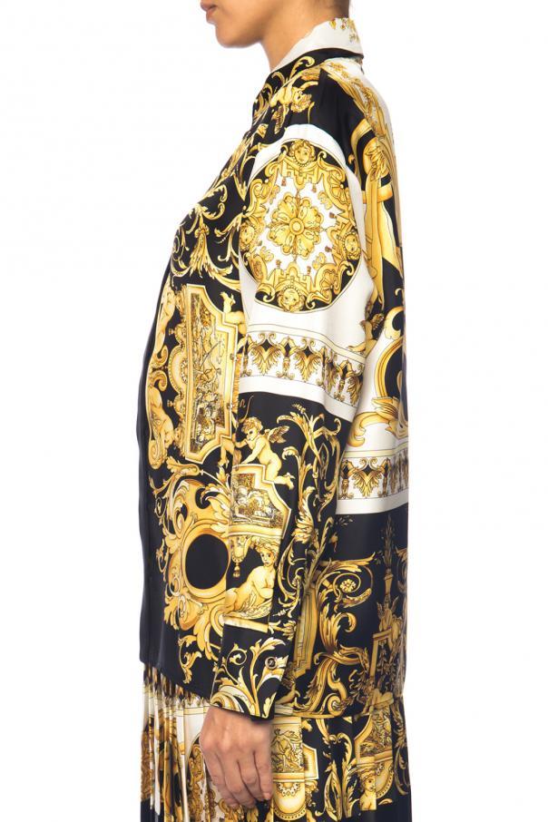 39 baroque 39 motif shirt versace vitkac shop online. Black Bedroom Furniture Sets. Home Design Ideas