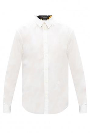 Shirt with logo od Versace