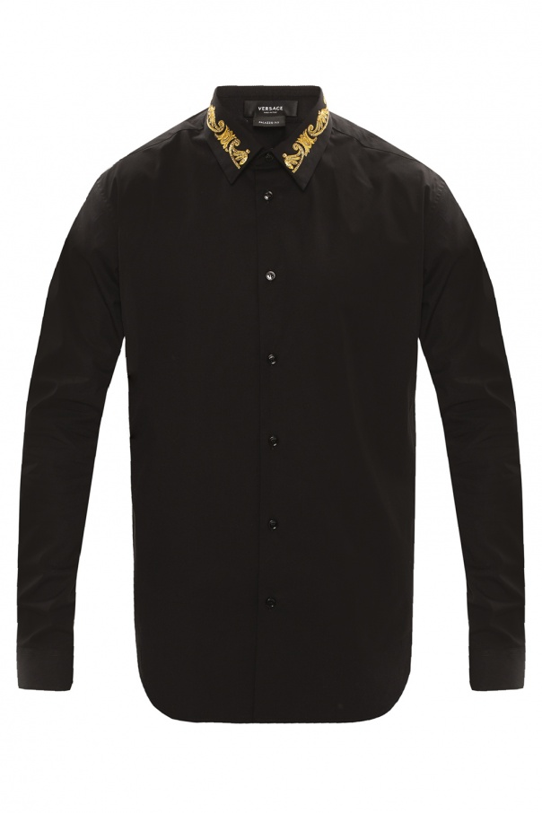 Versace Shirt with decorative collar
