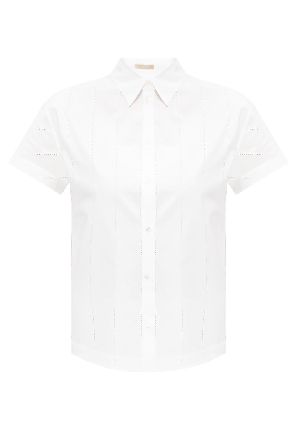 Alaia Shirt with slits