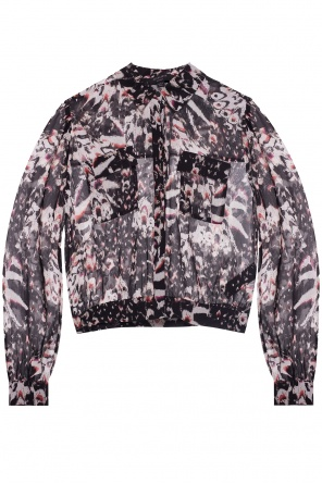 'adeliza' patterned shirt od AllSaints