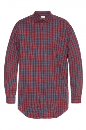 Checked shirt od Acne