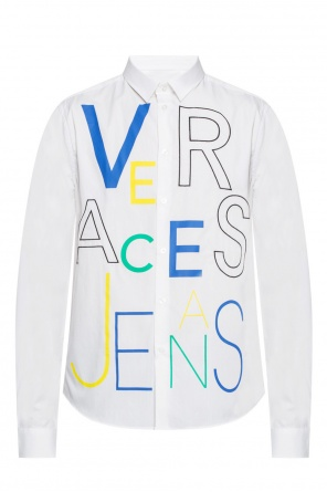 Printed shirt with logo pattern od Versace Jeans