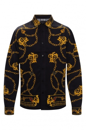 Shirt with logo od Versace Jeans Couture