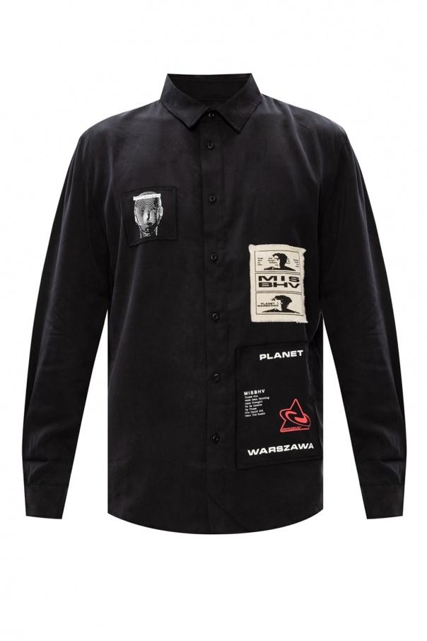 MISBHV 'Tencel' patched shirt