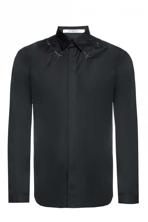 Shirt with an embroidered pattern od Givenchy