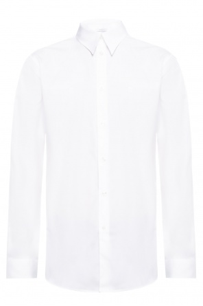 Logo-embroidered shirt od Givenchy