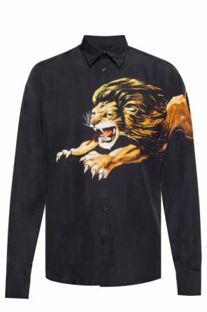 Shirt with a lion motif od Givenchy