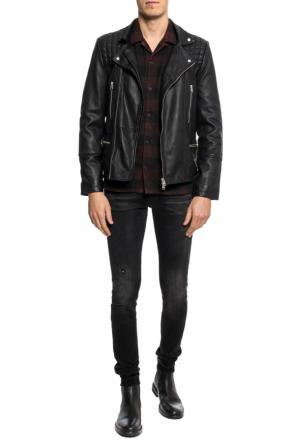 'boulder' checked shirt od AllSaints