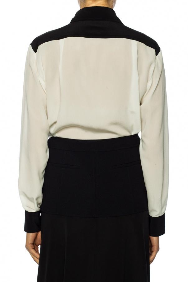 Jedwabna koszula z kołnierzem od Givenchy
