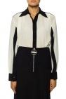 Givenchy Jedwabna koszula z kołnierzem