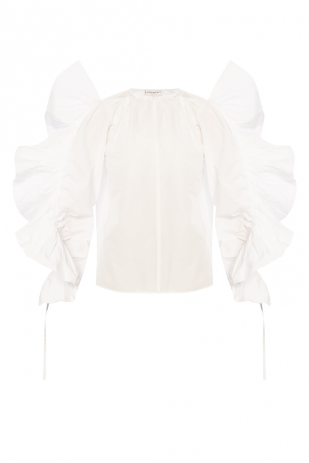 Givenchy Ruffle top
