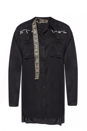 Embroidered overshirt od Diesel