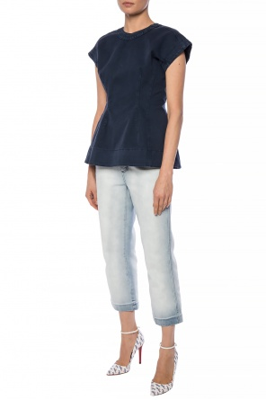 Sleeveless denim top od Marni