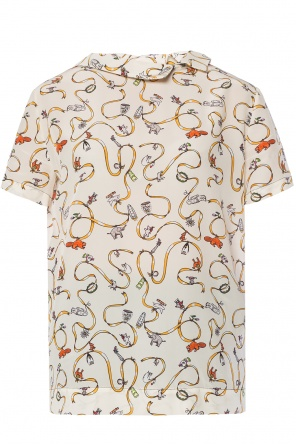 Printed top od Marni