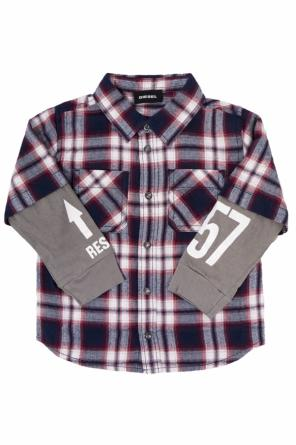 Shirt with double sleeve od Diesel