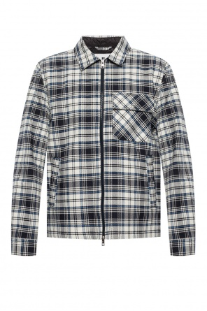 Checked jacket od Woolrich