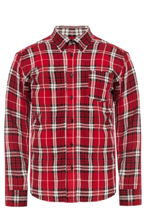'rikers' checked shirt od Isabel Marant