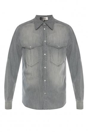 02c7535fc54 ... Denim shirt with pockets od Isabel Marant