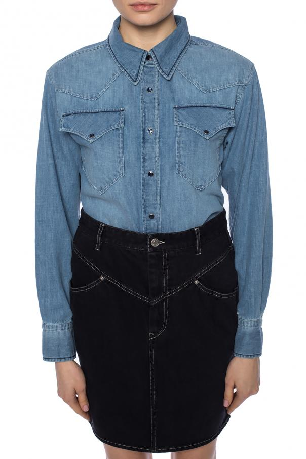 Denim shirt with stitching od Isabel Marant Etoile