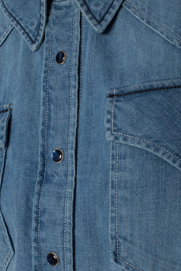 Denim shirt with stitching od Isabel Marant Etoile