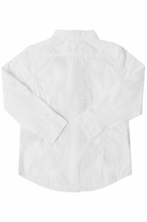 Ruffle-embroidered shirt od Diesel