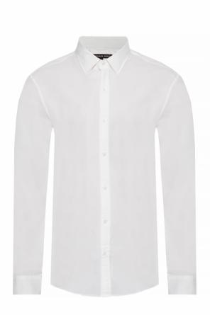 Logo-embroidered shirt od Michael Kors