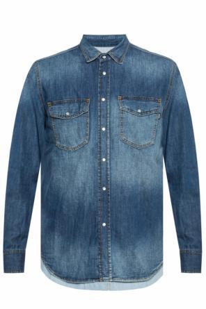 cf75c32879c Stonewashed tiered denim shirt od Diesel Stonewashed tiered denim shirt od Diesel  quick-view