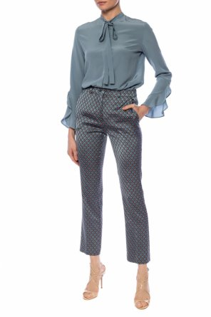 Tie-up top od Etro
